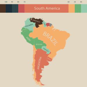 南米の物価水準