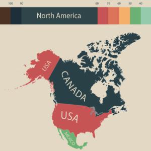北米の物価水準